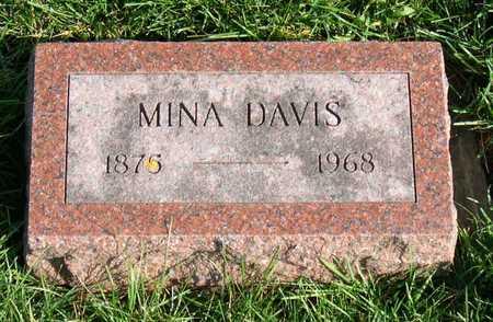 DAVIS, MINA - Linn County, Iowa | MINA DAVIS