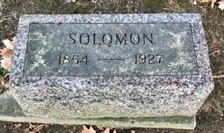 DAVIS, SOLOMON - Linn County, Iowa   SOLOMON DAVIS