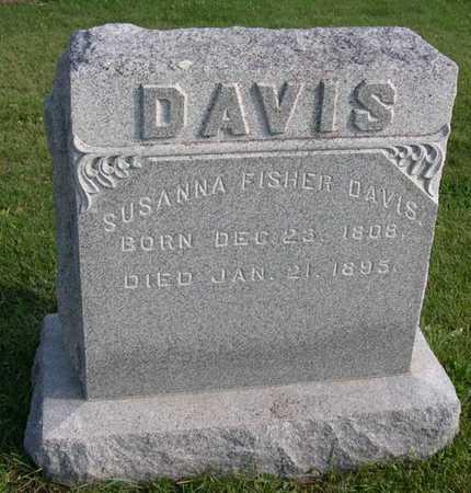 FISHER DAVIS, SUSANNA - Linn County, Iowa | SUSANNA FISHER DAVIS