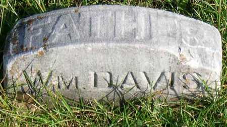 DAVIS, WM. - Linn County, Iowa | WM. DAVIS