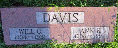 DAVIS, ANN K. - Linn County, Iowa | ANN K. DAVIS