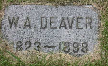 DEAVER, W. A. - Linn County, Iowa | W. A. DEAVER