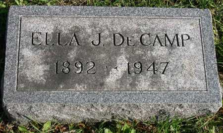 DECAMP, ELLA J. - Linn County, Iowa | ELLA J. DECAMP