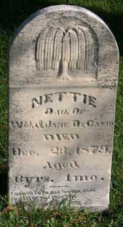 DECAMP, NETTIE - Linn County, Iowa | NETTIE DECAMP