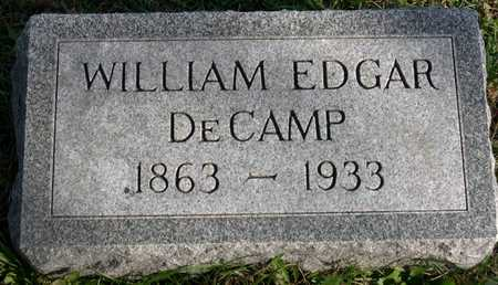 DECAMP, WILLIAM EDGAR - Linn County, Iowa | WILLIAM EDGAR DECAMP