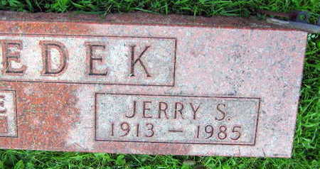 DEDEK, JERRY S. - Linn County, Iowa | JERRY S. DEDEK