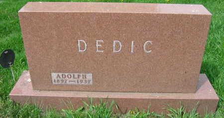 DEDIC, ADOLPH - Linn County, Iowa | ADOLPH DEDIC
