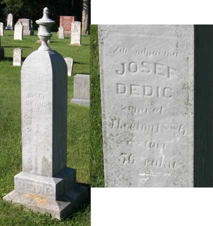 DEDIC, JOSEF - Linn County, Iowa | JOSEF DEDIC