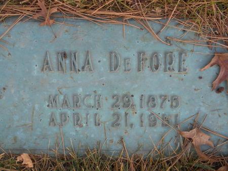 DEFORE, ANNA - Linn County, Iowa | ANNA DEFORE