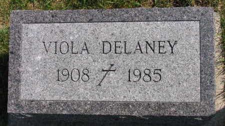 DELANEY, VIOLA - Linn County, Iowa | VIOLA DELANEY