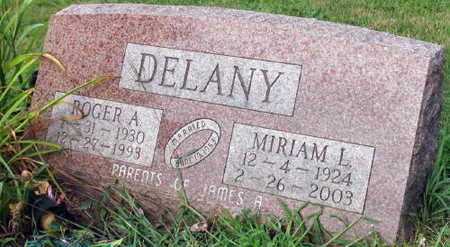DELANEY, MIRIAM L. - Linn County, Iowa | MIRIAM L. DELANEY