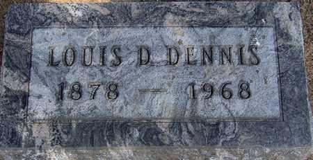 DENNIS, LOUIS D - Linn County, Iowa | LOUIS D DENNIS