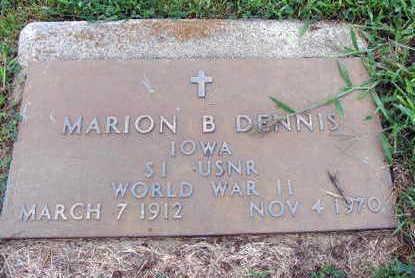 DENNIS, MARION B. - Linn County, Iowa | MARION B. DENNIS