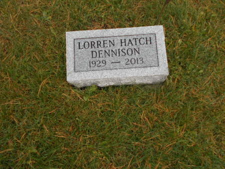DENNISON, LORREN HATCH - Linn County, Iowa | LORREN HATCH DENNISON