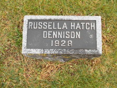 DENNISON, RUSSELLA HATCH - Linn County, Iowa | RUSSELLA HATCH DENNISON