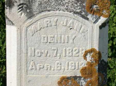 DENNY, MARY JANE - Linn County, Iowa | MARY JANE DENNY