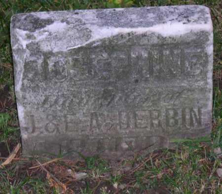 DERBIN, JOSEPHINE - Linn County, Iowa   JOSEPHINE DERBIN