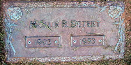 DETERT, MOLLIE R. - Linn County, Iowa   MOLLIE R. DETERT