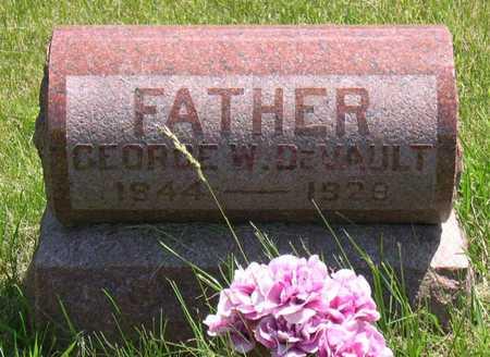 DEVAULT, GEORGE W. - Linn County, Iowa   GEORGE W. DEVAULT