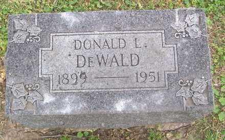 DEWALD, DONALD L. - Linn County, Iowa   DONALD L. DEWALD