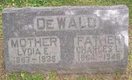 DEWALD, LYDIA E. - Linn County, Iowa   LYDIA E. DEWALD
