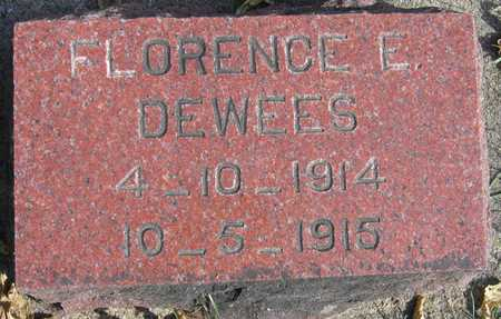 DEWEES, FLORENCE E. - Linn County, Iowa | FLORENCE E. DEWEES