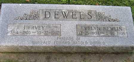NEWLIN DEWEES, EVELYN - Linn County, Iowa | EVELYN NEWLIN DEWEES