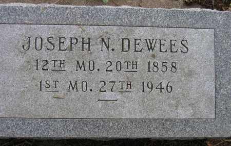DEWEES, JOSEPH N. - Linn County, Iowa | JOSEPH N. DEWEES