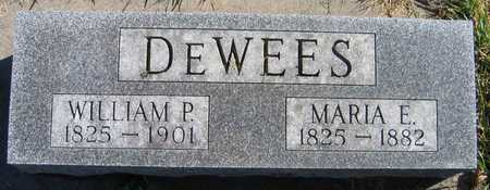 DEWEES, MARIA E. - Linn County, Iowa | MARIA E. DEWEES