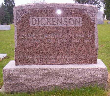 DICKENSON, CORA M. - Linn County, Iowa | CORA M. DICKENSON