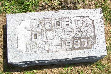 DICKES, JACOB C. - Linn County, Iowa   JACOB C. DICKES