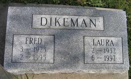 DIKEMAN, FRED - Linn County, Iowa | FRED DIKEMAN