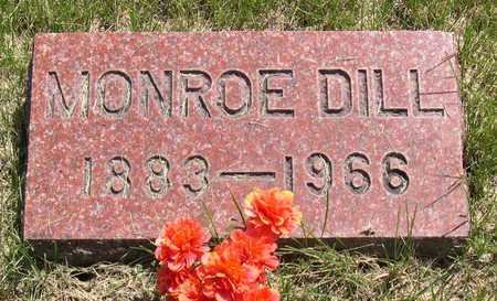 DILL, MONROE - Linn County, Iowa   MONROE DILL