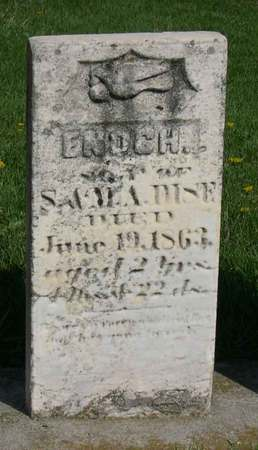 DISE, ENOCH - Linn County, Iowa | ENOCH DISE