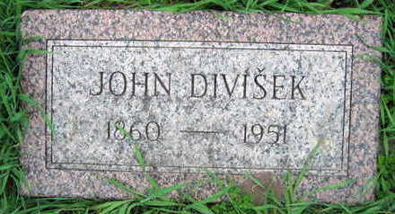 DIVISEK, JOHN - Linn County, Iowa   JOHN DIVISEK
