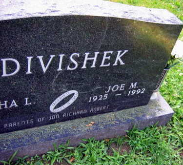 DIVISHEK, JOE M. - Linn County, Iowa | JOE M. DIVISHEK