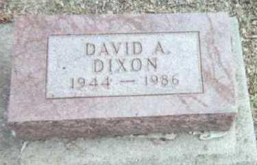 DIXON, DAVID A. - Linn County, Iowa | DAVID A. DIXON