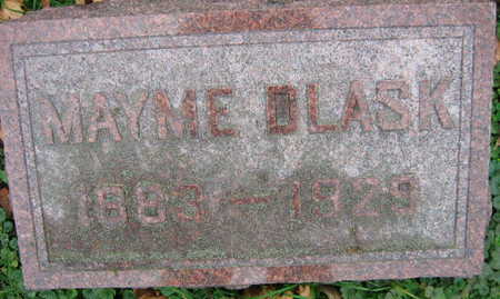 DLASK, MAYME - Linn County, Iowa | MAYME DLASK
