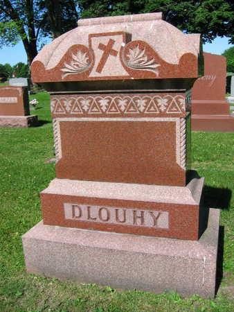 DLOUHY, FAMILY STONE  (DLOUHY PAVLIS) - Linn County, Iowa   FAMILY STONE  (DLOUHY PAVLIS) DLOUHY