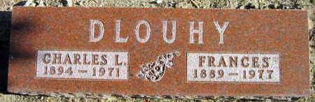 DLOUHY, FRANCES - Linn County, Iowa   FRANCES DLOUHY