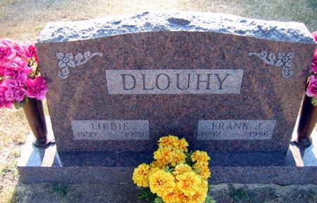 DLOUHY, LIBBIE - Linn County, Iowa   LIBBIE DLOUHY