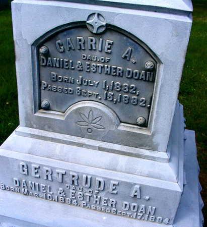 DOAN, GERTRUDE A. - Linn County, Iowa | GERTRUDE A. DOAN