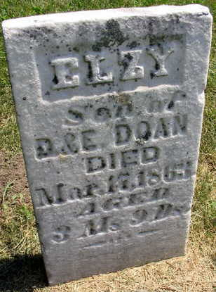 DOAN, ELZY - Linn County, Iowa | ELZY DOAN