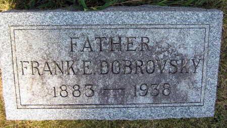 DOBROVSKY, FRANK E. - Linn County, Iowa | FRANK E. DOBROVSKY