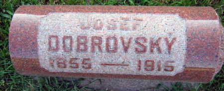 DOBROVSKY, JOSEF - Linn County, Iowa   JOSEF DOBROVSKY