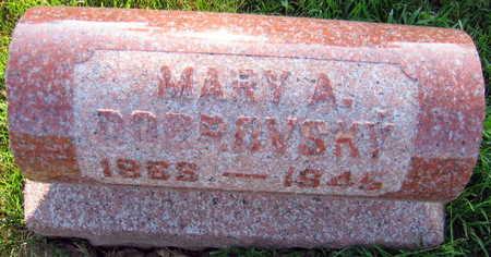 DOBROVSKY, MARY A. - Linn County, Iowa   MARY A. DOBROVSKY