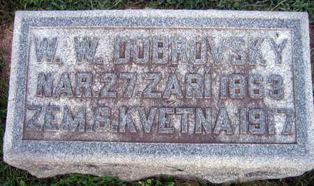 DOBROVSKY, W. W. - Linn County, Iowa | W. W. DOBROVSKY