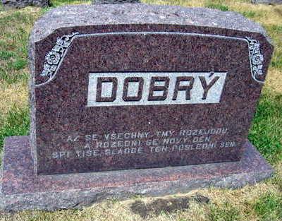 DOBRY, FAMILY STONE - Linn County, Iowa   FAMILY STONE DOBRY