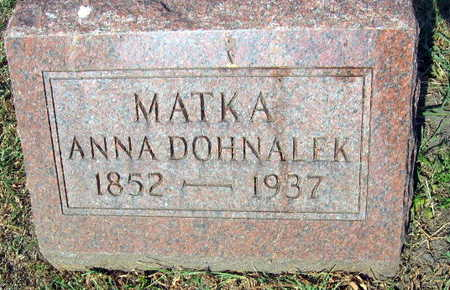 DOHNALEK, ANNA - Linn County, Iowa | ANNA DOHNALEK