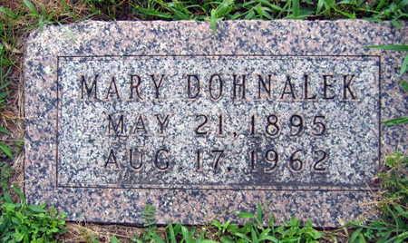 DOHNALEK, MARY - Linn County, Iowa   MARY DOHNALEK